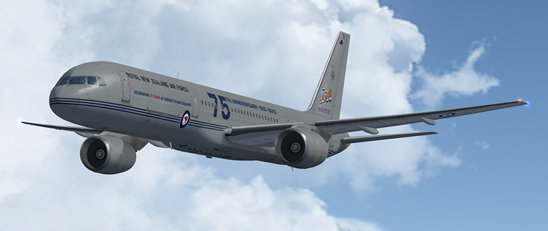 CS Boeing B757-200 RNZAF NZ7571 '75 Years'