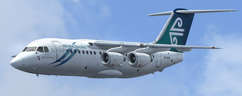 Qualitywings Avro RJ85/Bae-200: ZK-NZR